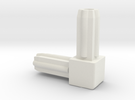 Square Tube 90 in White Strong & Flexible