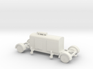 TT (1/120) German Generator trailer in White Strong & Flexible