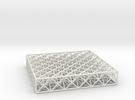Octet Truss Panel (6x6x1) in White Strong & Flexible