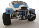 Scale engine replica for tamiya sand scorcher and  in White Strong & Flexible Polished