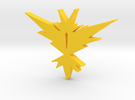 Team Instinct - Pokemon Go in Yellow Strong & Flexible Polished