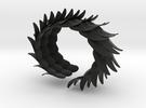 Vleugelarmband-M in Black Strong & Flexible