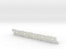 Lüfterhalter 3x kurz 4mm N10 V1 in White Strong & Flexible