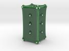 Vaso Fiori 1 in Gloss Oribe Green Porcelain