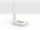 1:24 Scale Miniature Pepper Popper Target in White Strong & Flexible