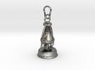 Kerosene lamp - pendant in Premium Silver