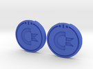 Commodore SX-64 Caps in Blue Strong & Flexible Polished