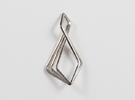 """N Line"" No.6 Pendant in Polished Silver"