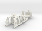 Immense Miniatures Narrow adjustable chassis FC-13 in White Strong & Flexible