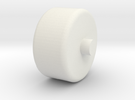 Foxic 1/10th scale model wheel in White Strong & Flexible