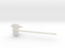 Grognak's Axe in White Strong & Flexible