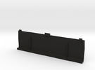 Lynx II Battery Cover in Black Strong & Flexible