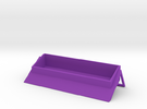 Custom Busisness Card Holder in Purple Strong & Flexible Polished
