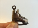 Keychain-Hockey-Skate in Stainless Steel