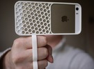 fotoGrip for iPhone 5/5s in White Strong & Flexible
