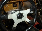 MOMO Steering wheel adapter for Celica Emblem in Black Strong & Flexible
