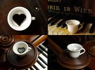 Your Secret Heart Coffee Cup in Gloss White Porcelain