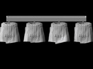 1/25 scale Roman Legionary tunics (4) in Frosted Ultra Detail