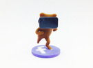 Virtual Reality Facebook Bear in Full Color Sandstone