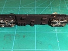 #87-2111 - Windsplitter Frame+Trucks in Black Strong & Flexible