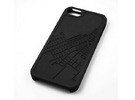 Red Hook Brooklyn Map iPhone 5/5s Case in Black Strong & Flexible