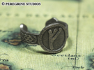 Ring - Fehu Rune (Size 13) in Stainless Steel