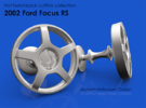 2002 Ford Focus RS Cufflinks in Raw Bronze