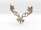 :Eyespell: Pendant in Raw Brass