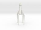 Sparrow mk1 rocket, for C size estes rocket engine in White Strong & Flexible
