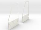 1:7 Bell Door Panels (Vario - Bell 412) in White Strong & Flexible