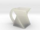 Twist Mug in Transparent Acrylic