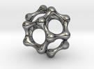 Water Cluster Pendant in Premium Silver