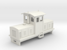 "HOn30 Centrecab Locomotive 2 (""Joanna"") in White Strong & Flexible"