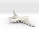 001N AMX 1/144 in flight in White Strong & Flexible