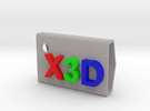 StampX3D in Full Color Sandstone