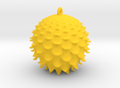 Thistle Ball in Yellow Strong & Flexible Polished