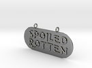 Spoiledpend-MM-02 in Polished Silver