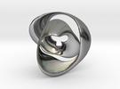 Knot 02 in Premium Silver