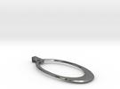 Oval Pendant in Premium Silver