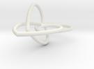 Heart Earrings in White Strong & Flexible
