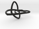 Heart Earrings in Black Strong & Flexible