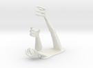Demon Hand Pen Holder -v1 in White Strong & Flexible