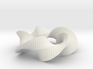 Sharp Twist Star in White Strong & Flexible