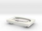 Beltloop wallet/cardholder in White Strong & Flexible