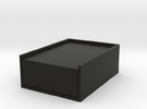 Card Box in Black Strong & Flexible