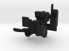 Small Pixel Monkey in Black Strong & Flexible