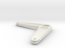 Lever - small in White Strong & Flexible