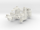 Barrage Bot in White Strong & Flexible