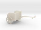 Hittite Heavy Chariot in White Acrylic