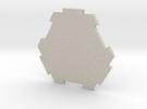 board game hexagon in Sandstone